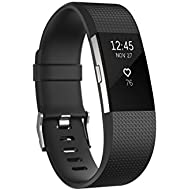 Fitbit Charge 2 Heart Rate + Fitness Wristband, Black...