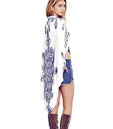 Mansy womens Floral Cardigan Kimono