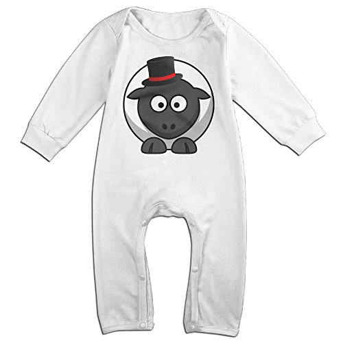Toddler Catwoman Romper Costumes (VanillaBubble Fat Sheep For 6-24 Months Toddler Awesome Romper White Size 18 Months)