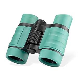 Binoculars for Kids 4×30 Kids Binoculars Compact Shockproof Binosulars for 3-12 Years Boys and Girls Toy Binoculars for…