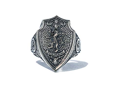 - Lannister Ring - Game of Thrones House Lannister, Hear Me Roar Ring A Song of Ice and Fire in 925 Sterling Silver