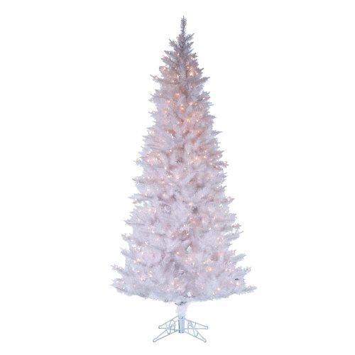 Kurt Adler Pre-Lit Tree, 4.5-Feet, White