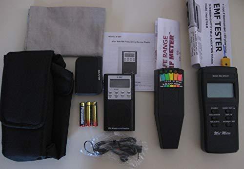 quipment Kit FM/AM SB7 Spirit Box + Mel Meter + K2 EMF Ghost Hunting Equipment Kit ()