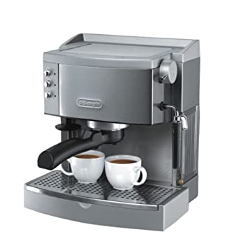 DeLonghi EC700, Plata, 1100 W, 220/240 V, 60 Hz, 258 x 230 x 295 mm, 5000 g - Máquina de café: Amazon.es: Hogar