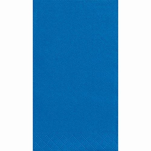 Royal Blue Paper Guest Napkins, 40ct - Napkins Guest Blue