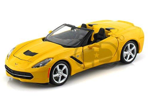 Amazon Maisto 2014 Chevrolet Corvette C7 Stingray Convertible