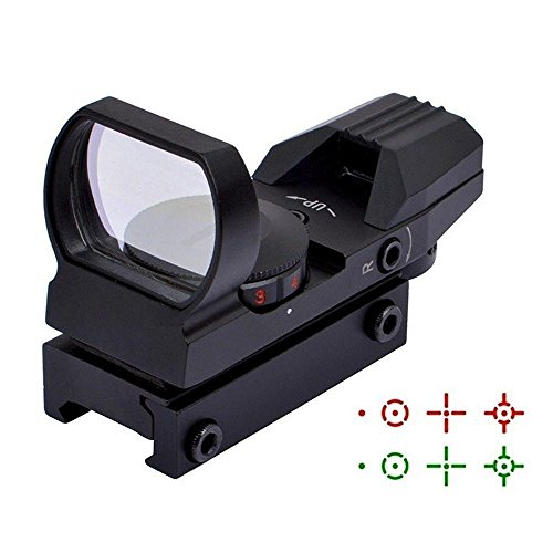Turning Circle (JahyShow Red Green Dot Sight Reflex Holographic Tactical Riflescope 4 Reticle Patterns With 20mm Free Mount Rails Black)