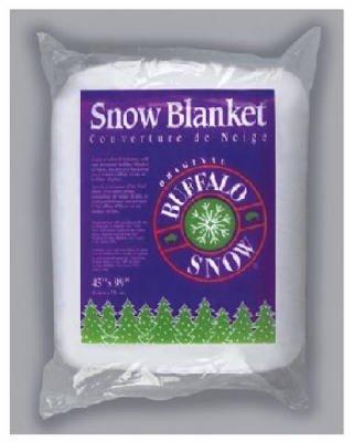 buffalo batt felt cb1166 snow blanket for christmas decoration 45 by 99 inch - Fake Snow Decoration