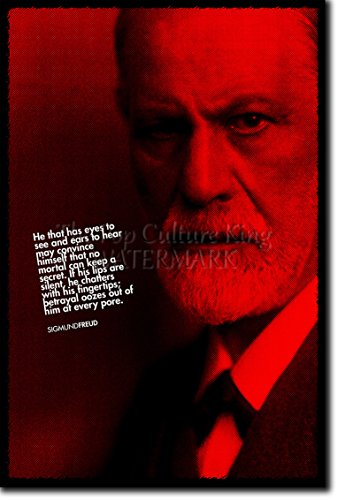 Sigmund Freud Art Print - High resolution photo poster with iconic quote - A
