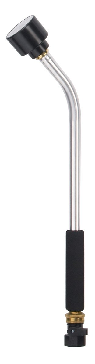 Dramm 12368 Classic Rain Watering Wand 16-Inch Length with 8-Inch Foam Grip, Silver