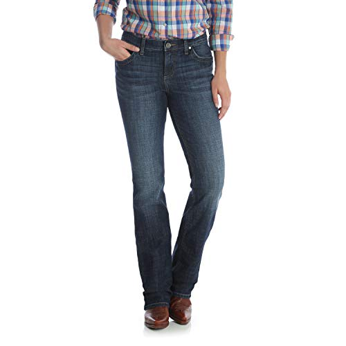 5062c916546 Wrangler Women s Q-Baby Mid Rise Boot Cut Ultimate Riding Jean