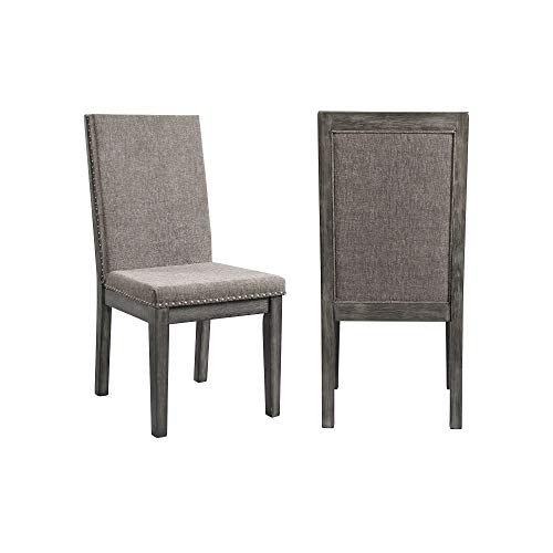ings Austin Dining Side Chair in Gray (Set of 2) ()