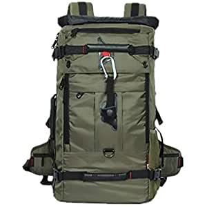 Multifunctional oxford backpack men large waterproof travel Bag outdoor sport bag OSM91 Army Green