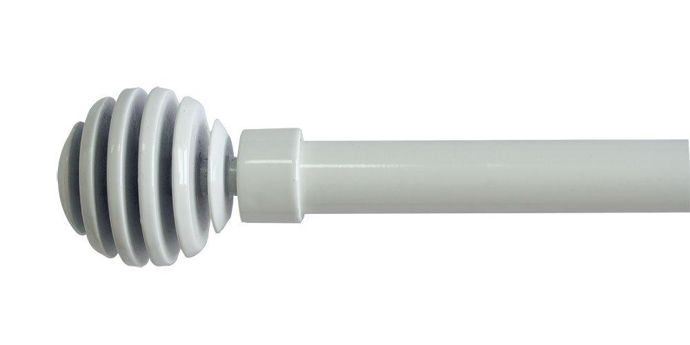 Trim& Tram Soho Kit asta allungabile, colore: Bianco, bianco, 110 à 210 cm 5800/006 C9