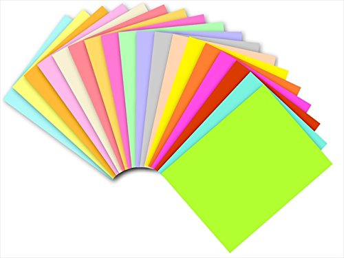 EarthChoice 055029 Domtar Exact Wausau Paper Acid-Free Multi-Purpose Colored Copy Paper44; Cherry ()