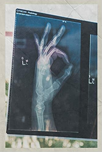 Notebook: Xray of hand Beautiful Composition Book Daily