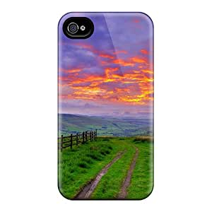 New Fashionable DaMMeke PqrESVO736BcsYZ Cover Case Specially Made For Iphone 4/4s(gorgeous Scenery)