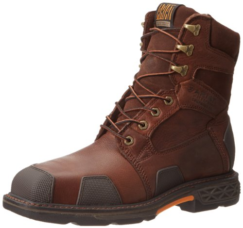 Chestnut Brown Boots - Ariat Men's Overdrive 8
