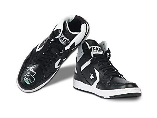 Larry Bird Boston Celtics Autographed Signed Memorabilia Converse Weapon 86 Shoe Upper Deck Authentic