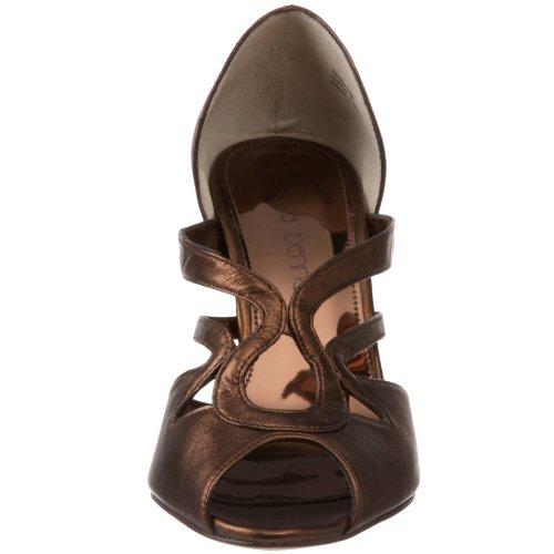 jessica bennett Womens Plato Open-Toe Pump Bronze 8azkxMcWW
