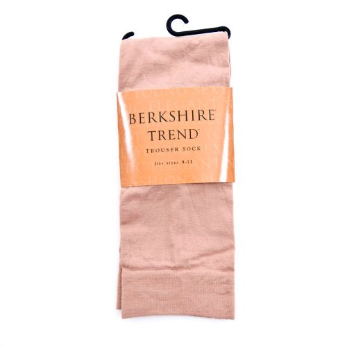 (Berkshire Women's Trend Opaque Trouser Socks-Sandalfoot 1 Pair, Nude, One-Size)