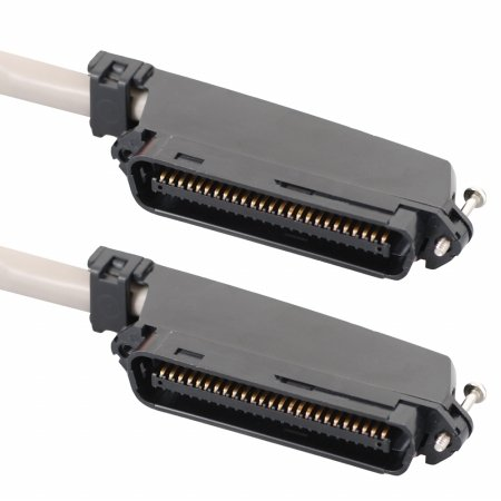 ICC ICPCSTMM25 50 Pin Male To Male Telco connector CAT 3 Telco cable, 25 ft.