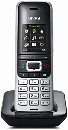 Unify OpenScape S5 - Teléfono IP (Negro, Plata, Terminal inalámbrico, sin el cargador Digital, 128 x 160 Pixeles, 65536 colores, 500 entradas): Amazon.es: Electrónica