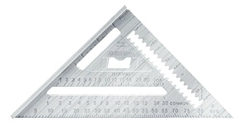 Johnson Level & Tool RAS-1 7-Inch Aluminum Rafter Angle Square (2 Pack)