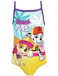 Paw Patrol Girls' Skye and Marshall Swimsuit