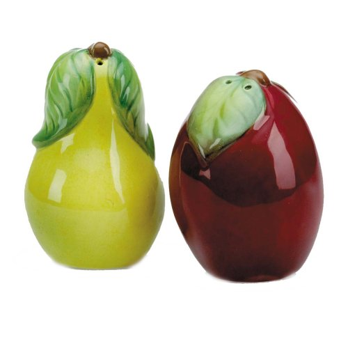 Lenox Orchard in Bloom Figural Salt and Pepper Set