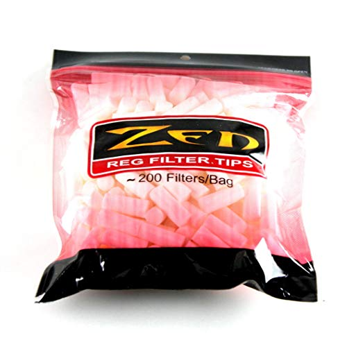 Zen Cigarette Filter Tips Bundle - 5 Bags - 1000 Filter Tips - Regular