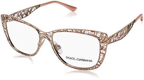 Eyeglasses Dolce & Gabbana DG 1287 1298 PINK - Glasses Optical And Dolce Gabbana