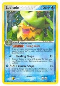 - Pokemon - Ludicolo (10) - EX Deoxys - Reverse Holofoil