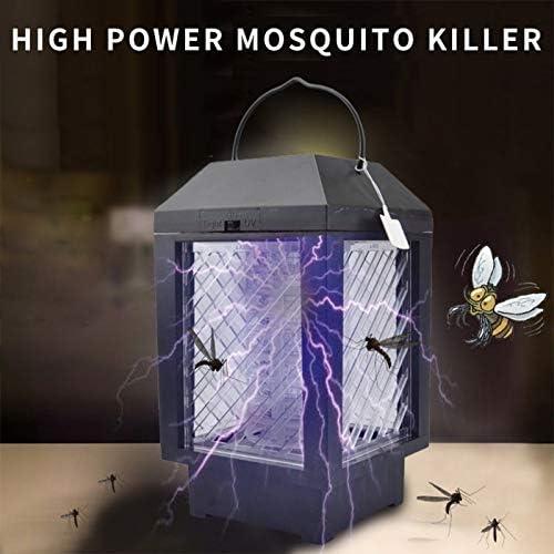DWSM Lámpara de Mata Mosquitos para Exteriores, batería Solar, Insectos, Zapper para jardín, Impermeable, 2 en Exterior, Repelente de Mosquitos, Zapper: Amazon.es: Jardín
