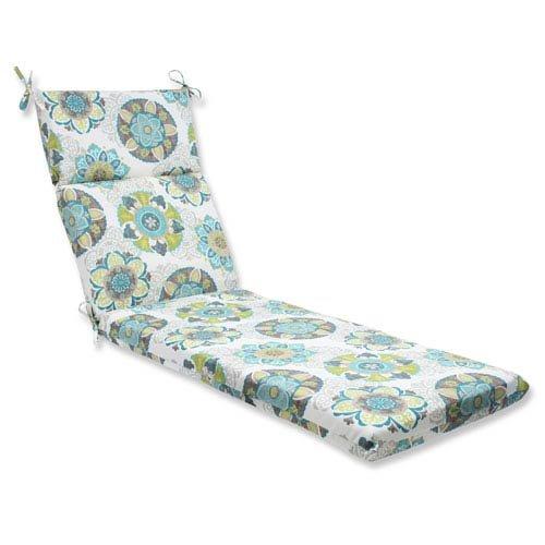 Pillow Perfect Outdoor Allodala Chaise Lounge Cushion, Oasis