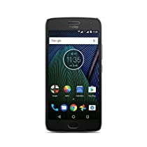 Moto G 5ª Generación Plus - Smartphone libre Android 7 (pantalla de 5.2'' Full HD, 4 G, cámara de 12 MP Dual Pixel, 3 GB de RAM, 32 GB, Qualcomm Snapdragon 2.0 GHz)