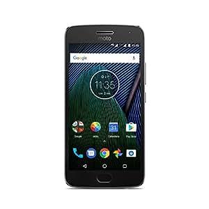 Moto G 5ª Generación Plus - Smartphone libre Android 7 (pantalla de 5.2'' Full HD, 4 G, cámara de 12 MP Dual Pixel, 3 GB de RAM, 32 GB, Qualcomm Snapdragon 2.0 GHz), color gris - [Exclusivo Amazon]