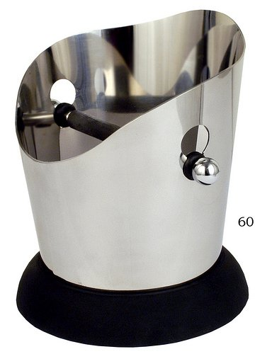 Commercial Espresso Knock Box - European Gift 60 60 Coffee-Machine &-espresso-Machine-Cleaning-Products, Stainless Steel
