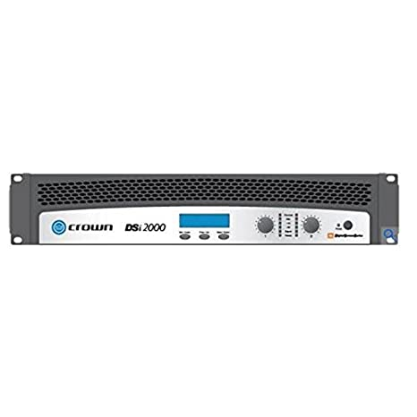 Crown Audio DSi-2000, 2-Channel 800 Watt per Channel Cinema Amplifier with