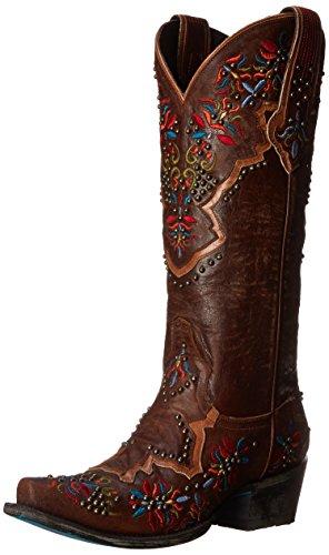 Lane Boots Women's Glitz and Glamour Western Boot Brown HI8qyePzu