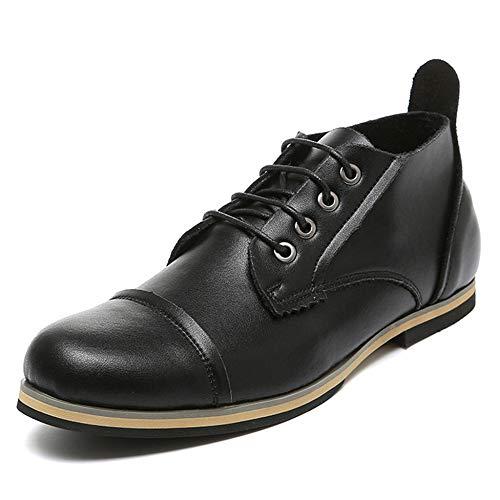 Stivaletti Di Per Yra Scarpe Vintage Oxford Black Lavoro Grandi In Stringate Da Martora Stivaletti Di Vera Pelle Scarpe Dimensioni Maschili dFqFZ0