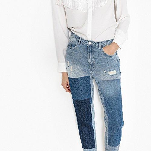A Jeans E Redoute Inserti La Con Strappo Patte Double Donna Stone Collections wZBZxqnY