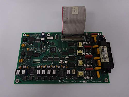 ESI IVX-482 5000-0294 4 Port Analog Trunk (FXO) by 8 Port Digital Station by 2 Port Analog Station (FXS) Circuit Card for IVX-S Class Gen II, ESI50 C-Plus Systems 4 Port Analog Trunk