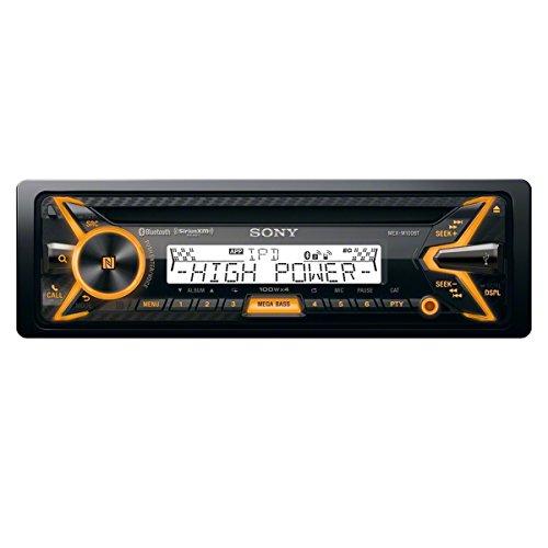 Sony MEXM100BT 160W RMS Marine CD Receiver with Bluetooth (Black) and SiriusXM Ready