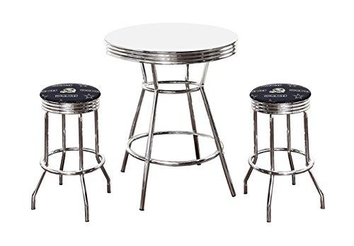 3 Piece Pub/Bar Table Set with 2 - 29