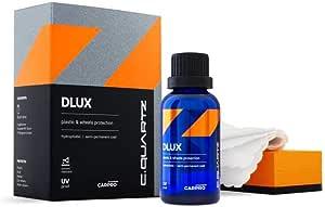 Cquartz Dlux Wheel and Trim Coat 30mL - Ceramic Coating UV Protection for Wheels and Exterior Plastics, Rubber, and Metals