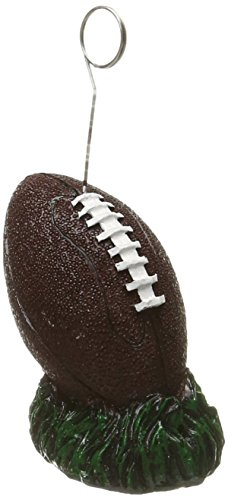 Football Photo/Balloon Holder Party Accessory (1 count) -