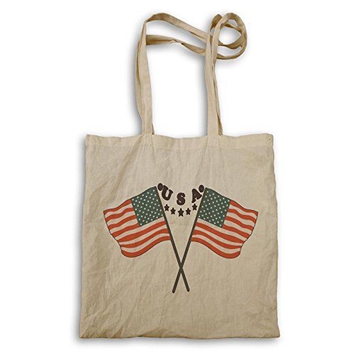 USA Usa Flagge Neuheit Lustig Tragetasche a855r