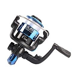 Package includes:              1 x Fishing reel                Product configuration:              Line capacity:mm/M:0.18/240 0.20/195 0.25/125       Rocker arm can be exchanged left and right       Type:2000       Speed ra...