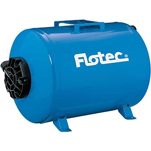Flotec Horizontal Precharged Water System Tank - 19-Gallon Capacity, Equivalent to a 42-Gallon Capacity Tank, Model# FP7110TH